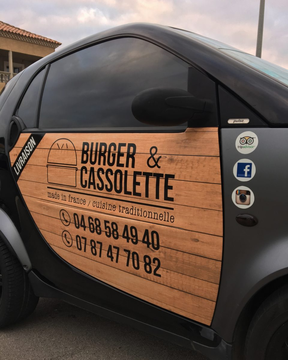 Plastimage – concepteur et fabricant de covering véhicule à Narbonne et en Occitanie - Burger et Cassolette