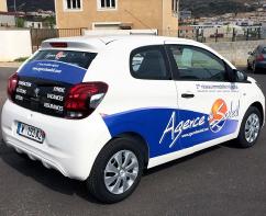 Plastimage - marquage et covering de véhicule à Narbonne en Occitanie - Agence du Soleil
