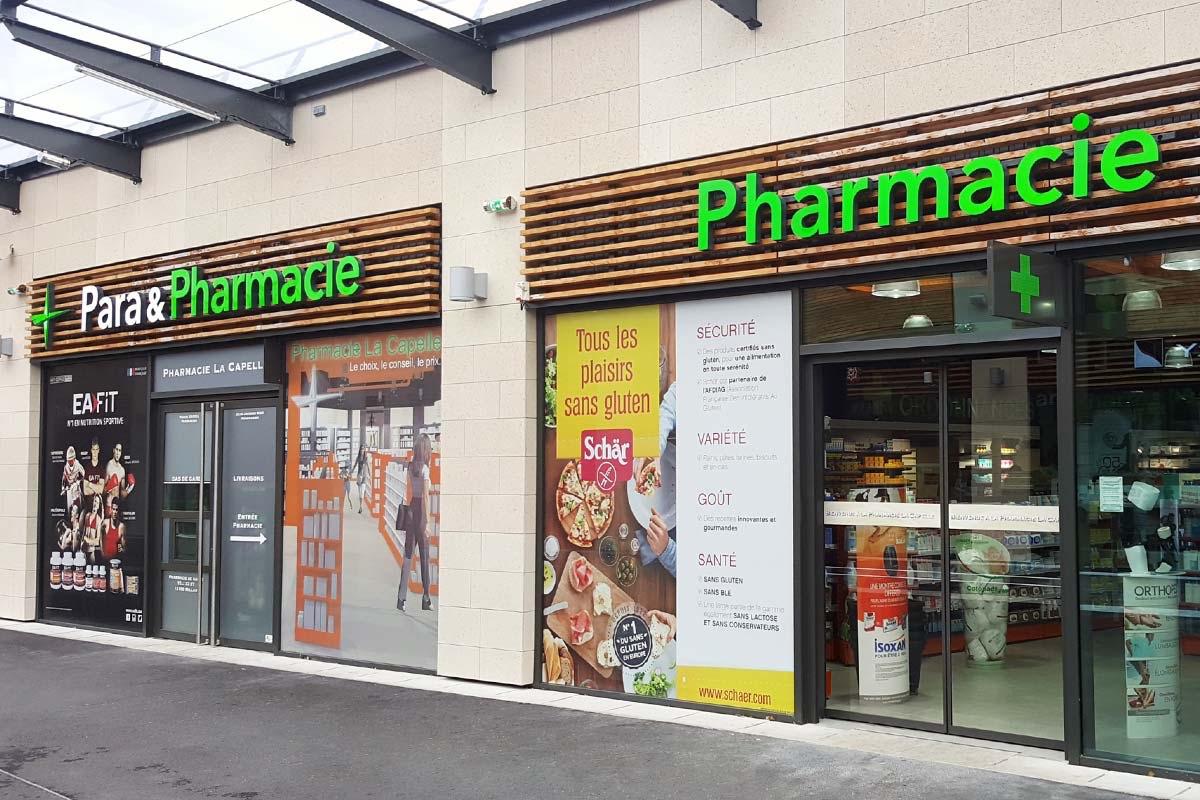 Plastimage – concepteur et fabricant de vitrines de pharmacies à Narbonne et en Occitanie
