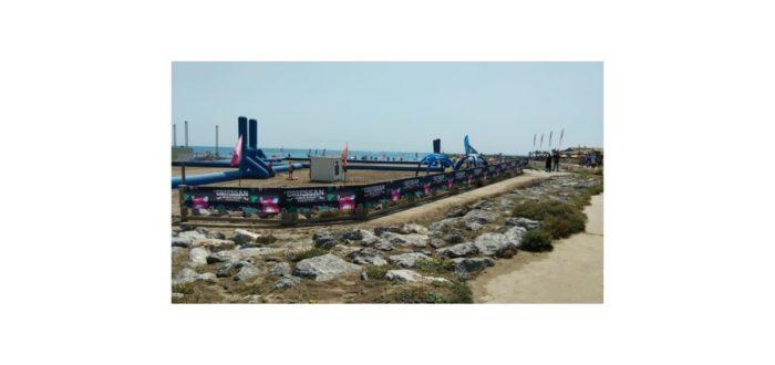 Communication évènementielle pour le tournoi de Beach rugby
