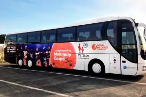 vehicule bus gospel