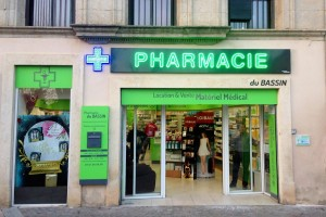 pharmacie bassin
